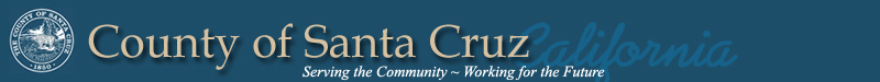 County of Santa Cruz banner